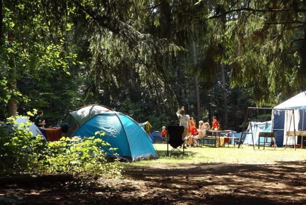 Camping met huurtenten