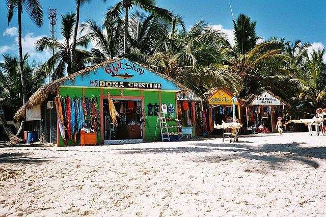 dominicaanse republiek strandtent
