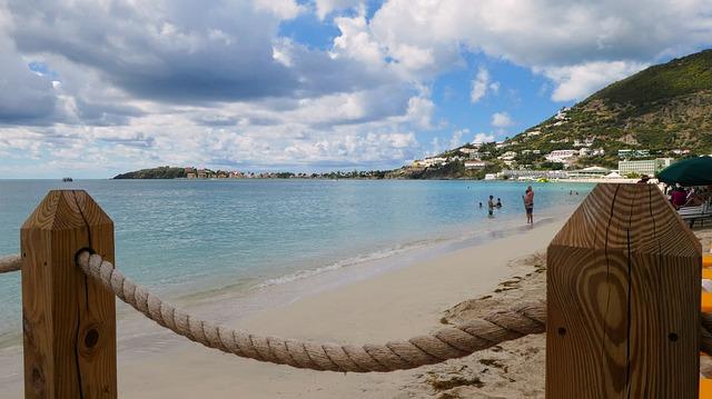 Sint Maarten strand