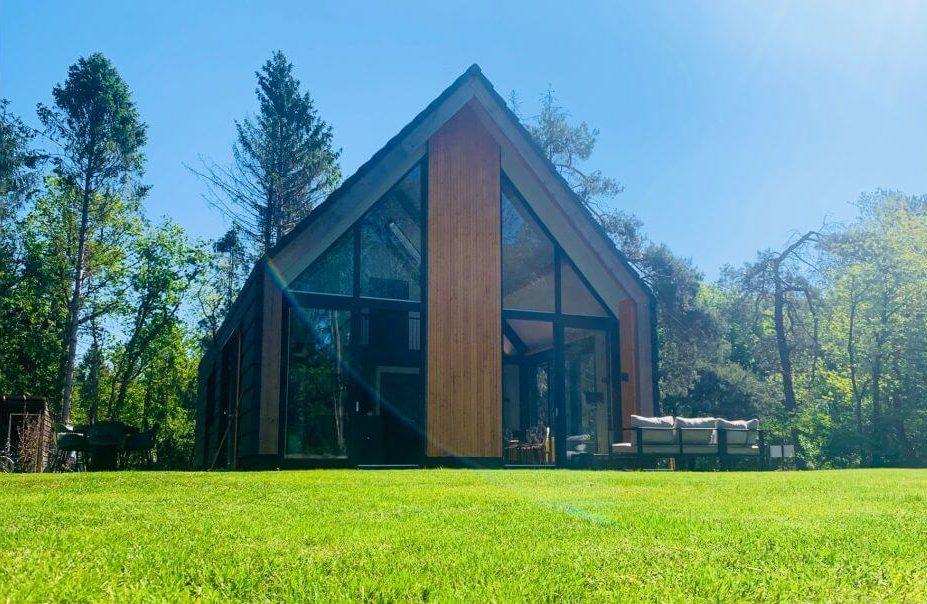 Luxe villa in het bos