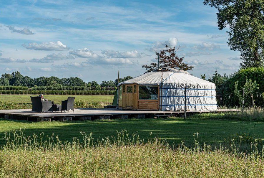 Yurt vakantiehuisje