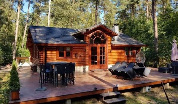 Bijzonder vakantiehuisje in Canadese stijl