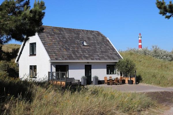 Natuurhuisje aan zee op Ameland