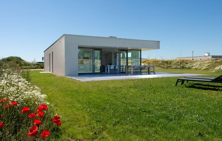 natuurvilla aan zee in Zeeland