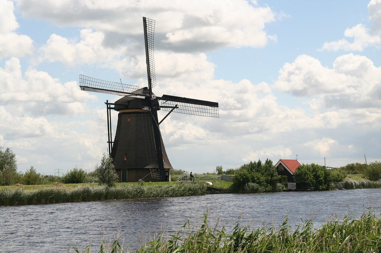 5x overnachten in een molen in Nederland