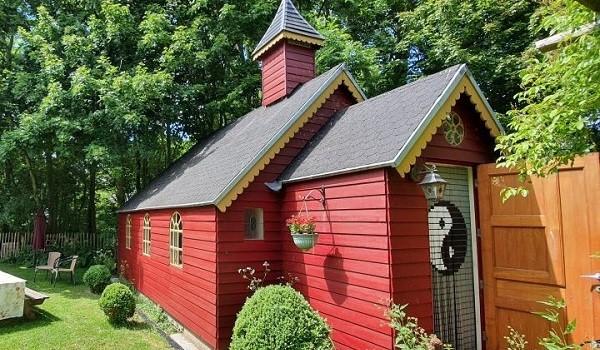 Bijzonder natuurhuisje in vorm van kapelletje