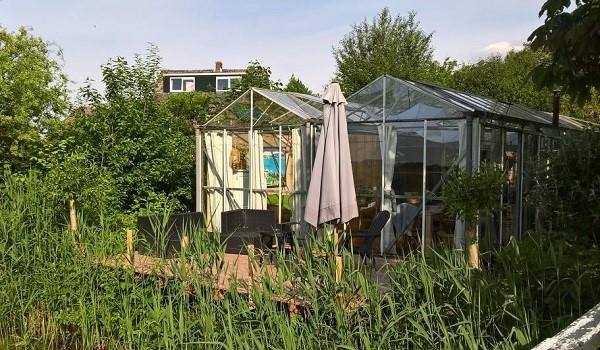 Omgebouwde tuinkas