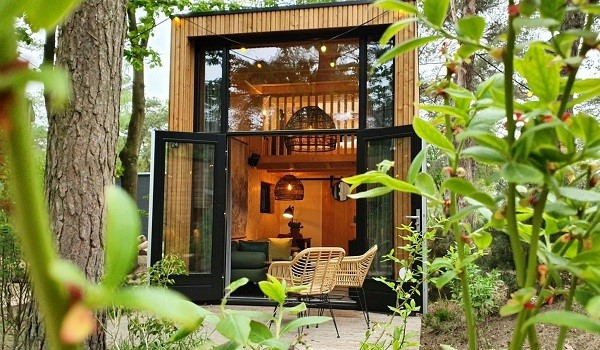 Tiny house op droompark