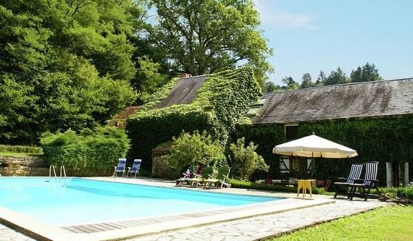 Natuurhuis met privezwembad Frankrijk