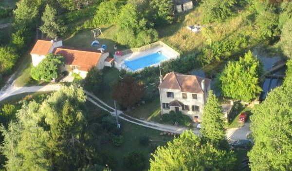 Vakantiehuis met privezwembad in Dordogne