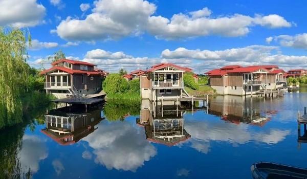 Vakantiehuisjes met aanlegsteiger