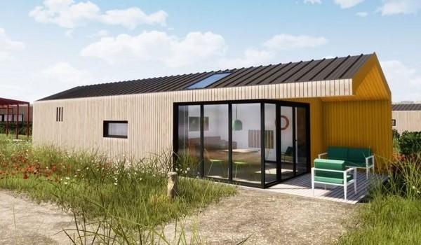 Design vakantiehuisje Callantsoog