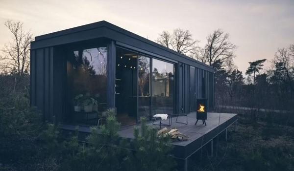 Design vakantiehuisje op de Veluwe