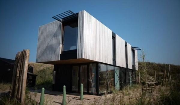 Design vakantiehuisje Zandvoort