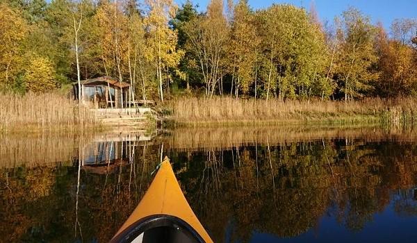 Cabin aan het water